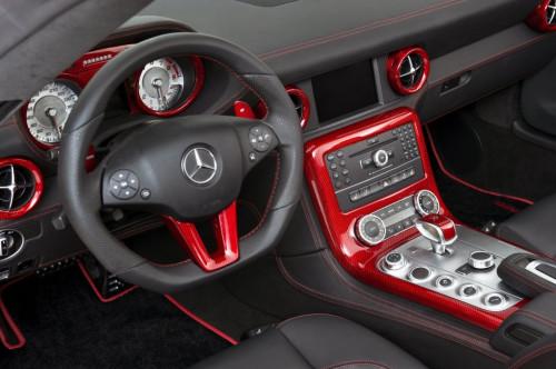 Hamann Pakiet wnętrza Carbon SLS AMG