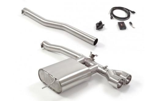 Ragazzon Sportowy układ wydechowy z klapami Cooper S F56 GPF