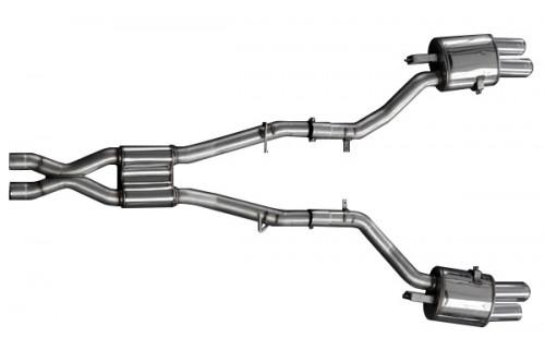 Hamann Sportowy układ wydechowy 6 F06, F12 i F13