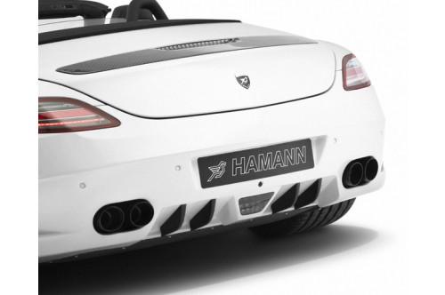 Hamann Sportowy tłumik tylny SLS AMG