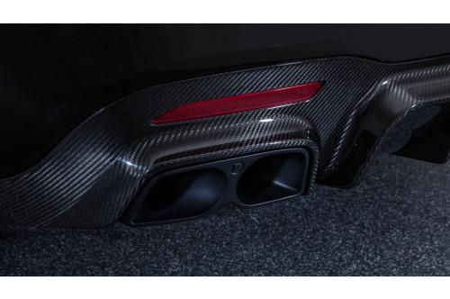 Brabus Sportowy układ wydechowy z klapami S 65 AMG V222