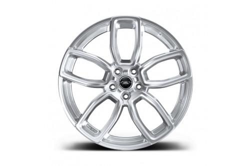 """Kahn Zestaw felg 600 LE Platinum Silver 23"""" Range Rover Sport 2013"""