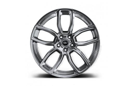 "Kahn Zestaw felg 600 LE Shadow Chrome 23"" Range Rover 2013"