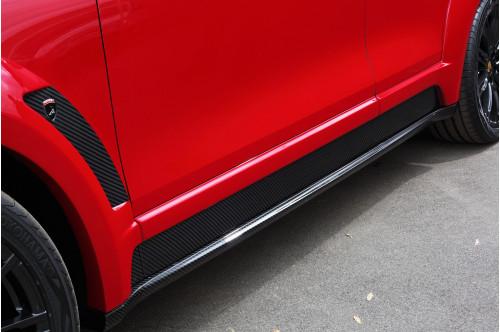 Topcar Listwy przednich drzwi Cayenne 958 2015