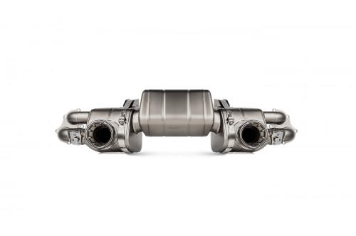 Akrapovic Sportowy układ wydechowy z klapami Boxster / Cayman 718
