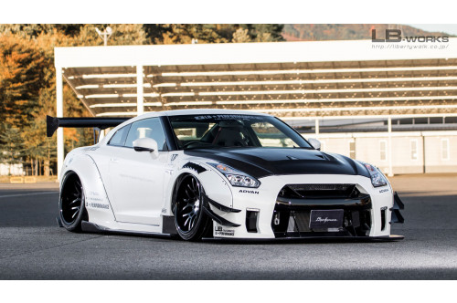 Liberty Walk Bodykit LB Works Type 2 GT-R R35