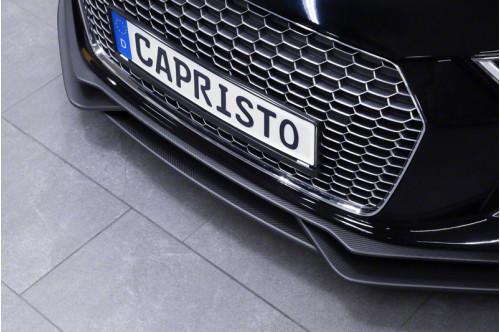 Capristo Przedni spoiler R8 2015