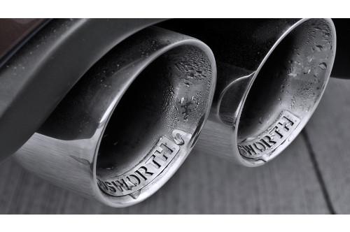 Kahn Sportowy tłumik tylny Range Rover 4.4 Diesel 2009