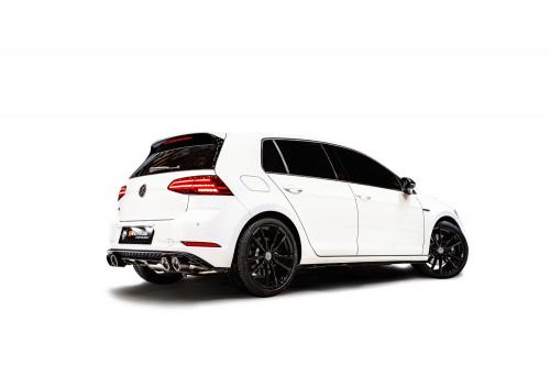 Remus Sportowy układ wydechowy z klapami Golf VII R Hatchback GPF