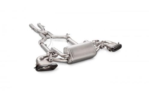 Akrapovic Sportowy układ wydechowy z klapami AMG GT