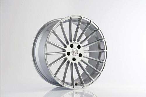 "Hamann Felga Anniversary EVO Silver 22"" Cayenne 958"