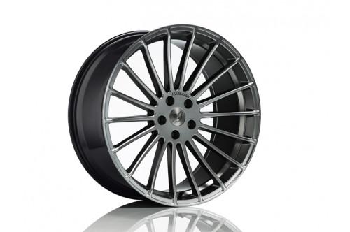 "Hamann Felga Anniversary EVO Hyper Black 21"" 5 GT F07"