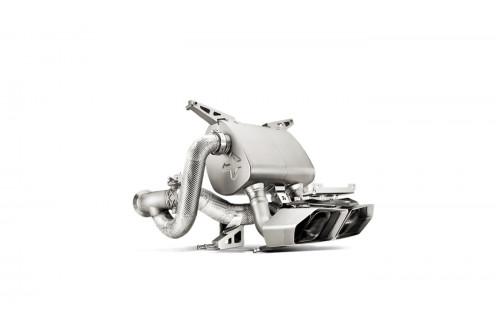 Akrapovic Sportowy układ wydechowy z klapami Aventador