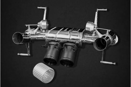 Capristo Sportowy układ wydechowy z klapami Aventador SVJ