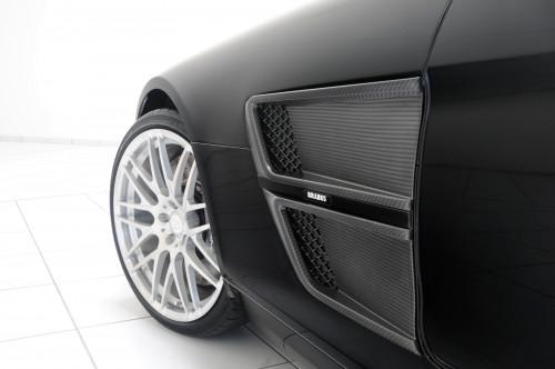 Brabus Wloty powietrza w nadkolach SLS AMG