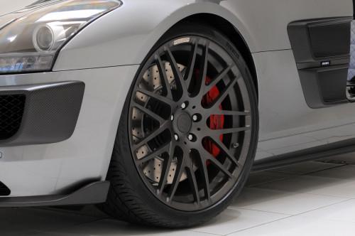 Brabus Regulowane zawieszenie SLS AMG