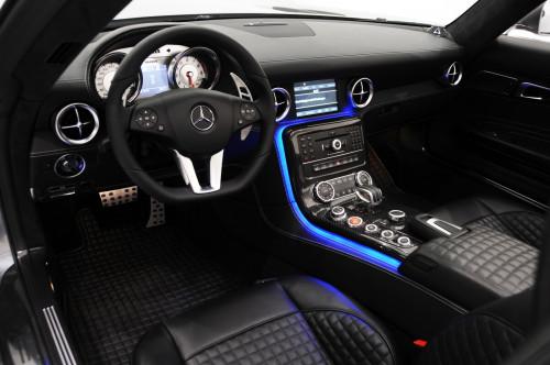 Brabus Skórzane wnętrze SLS AMG