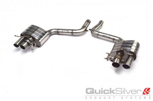 QuickSilver Sportowy tłumik tylny Continental GT, GTC 2018
