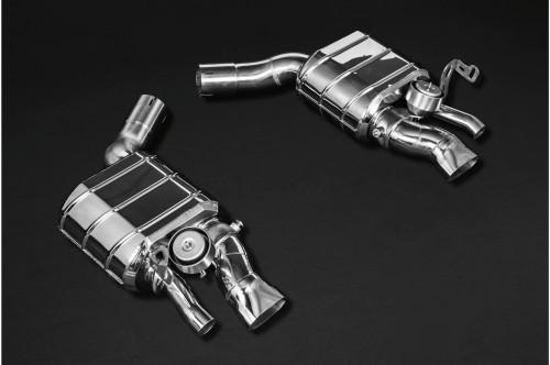 Capristo Sportowy układ wydechowy z klapami Continental GT, GTC 2018