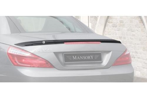 Mansory Tylny spoiler SL R231