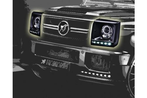 Hamann Obudowy reflektorów G 55 AMG W463