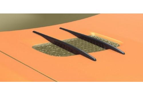 Mansory Wloty powietrza w masce AMG GT S