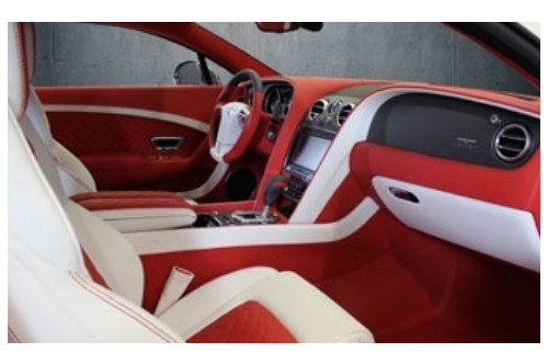 Mansory Skórzane wnętrze Continental GT, GTC 2012