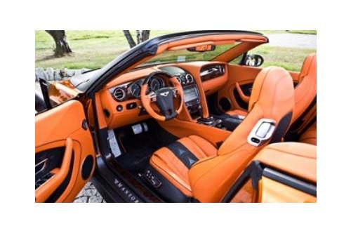 Mansory Skórzane wnętrze Continental GT, GTC 2016