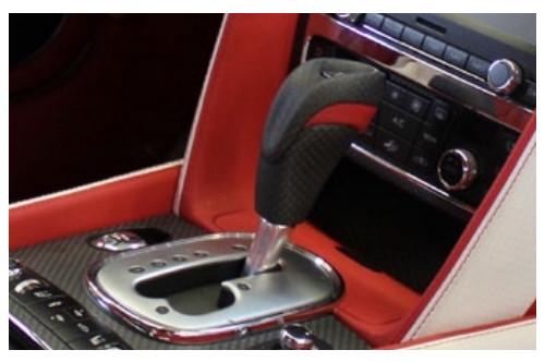 Mansory Dźwignia biegów Continental GT, GTC 2012