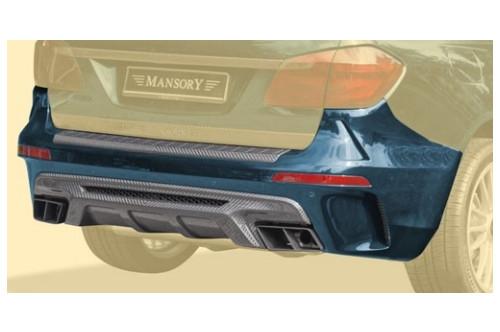 Mansory Tylny zderzak GL 63 AMG X166