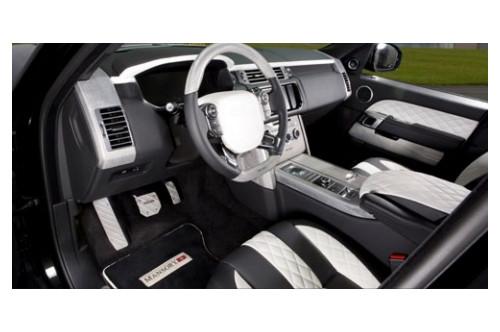 Mansory Skórzane wnętrze Range Rover 2013