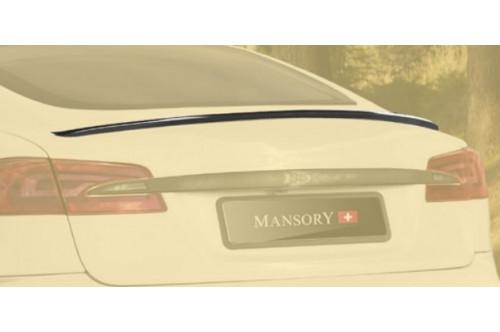 Mansory Tylny spoiler Model S