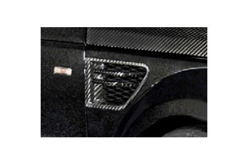 Mansory Wloty powietrza w nadkolach Range Rover Sport 2009