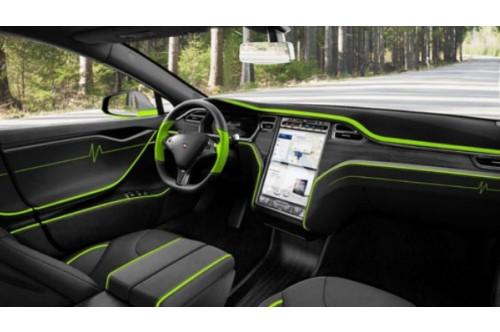 Mansory Skórzane wnętrze Model S