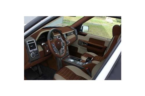 Mansory Skórzane wnętrze Range Rover 2009