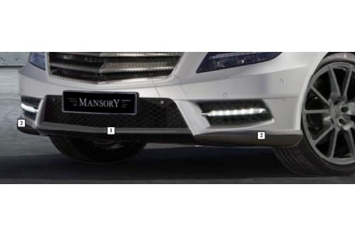 Mansory Przedni spoiler CLS C218 i X218