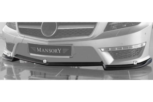 Mansory Przedni spoiler CLS 63 AMG C218 i X218