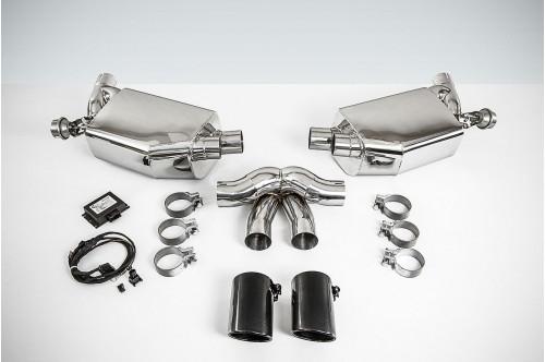 TechArt Sportowy układ wydechowy z klapami Boxster / Cayman 981