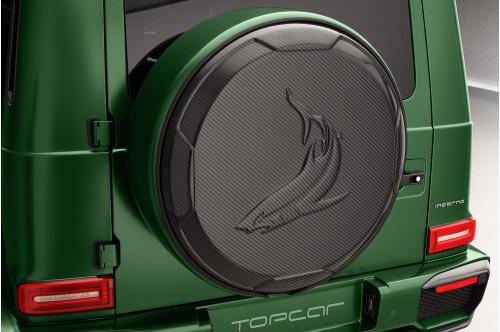 Topcar Obudowa koła zapasowego G W463A