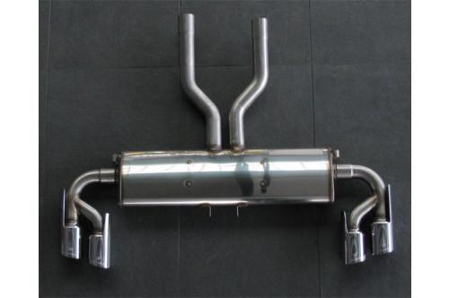 Hamann Sportowy tłumik tylny Cayenne Turbo 958