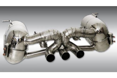 Novitec Sportowy układ wydechowy z klapami 458 Speciale