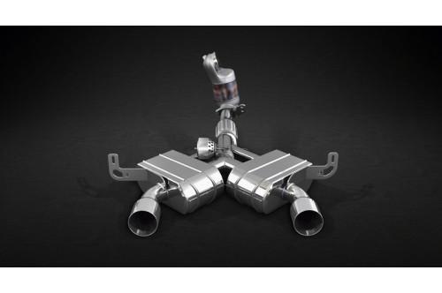 Capristo Sportowy układ wydechowy z klapami 4C