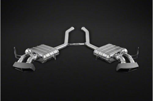 Capristo Sportowy układ wydechowy z klapami ML 63 AMG W164
