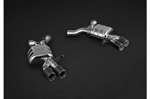Capristo Sportowy układ wydechowy z klapami M5 F10