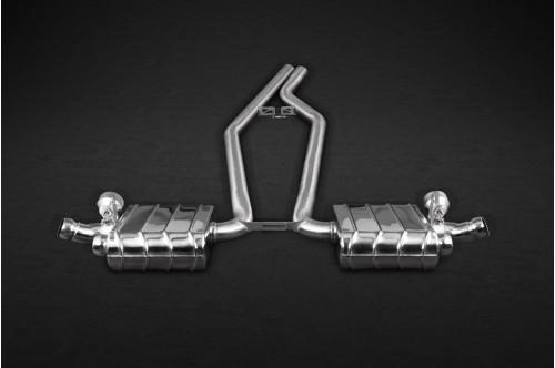 Capristo Sportowy układ wydechowy z klapami Cayenne 958 2015