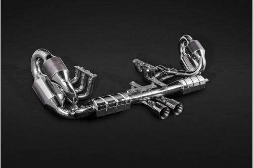Capristo Sportowy układ wydechowy z klapami 911 GT3 991