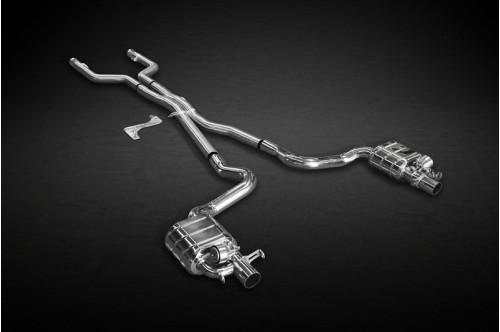 Capristo Sportowy układ wydechowy z klapami C 63 AMG W205, S205, C205 i A205