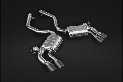 Capristo Sportowy układ wydechowy z klapami X5 M