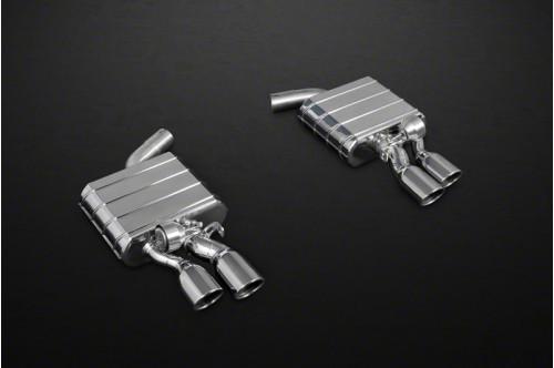 Capristo Sportowy układ wydechowy z klapami S6 C7