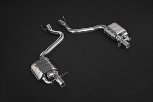 Capristo Sportowy układ wydechowy z klapami E 63 AMG W213